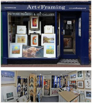 Picture Framing, Restoration & Art Gallery